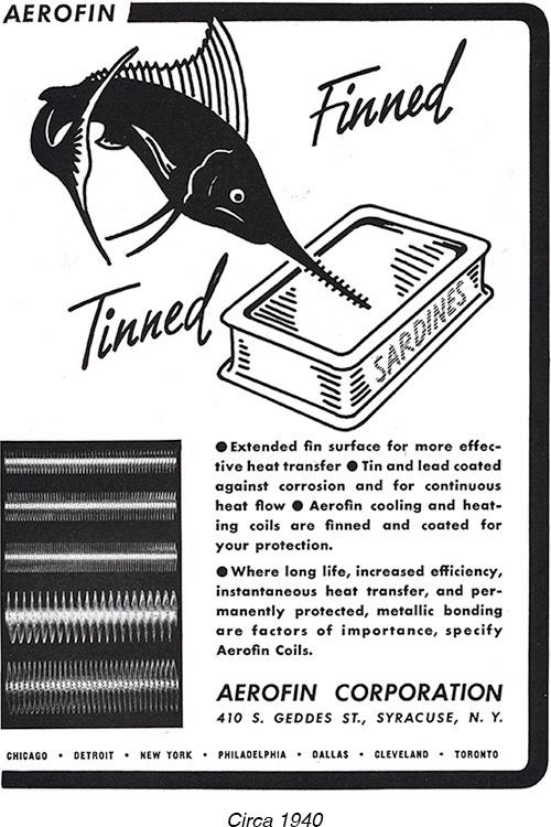 Vintage ad circa 1940